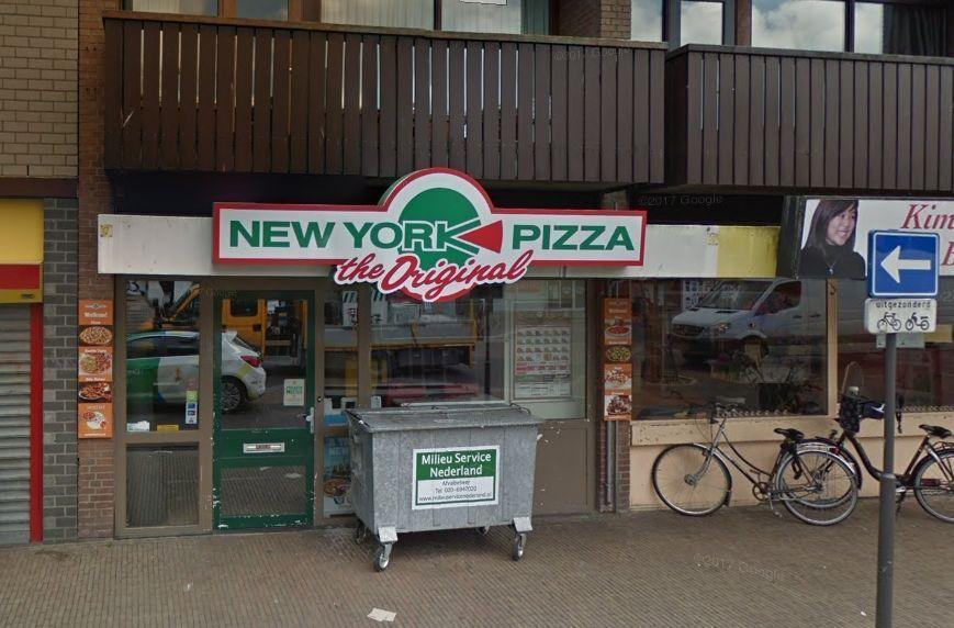 Veel Rook Bij Grote Brand Bij New York Pizza In Zaandam