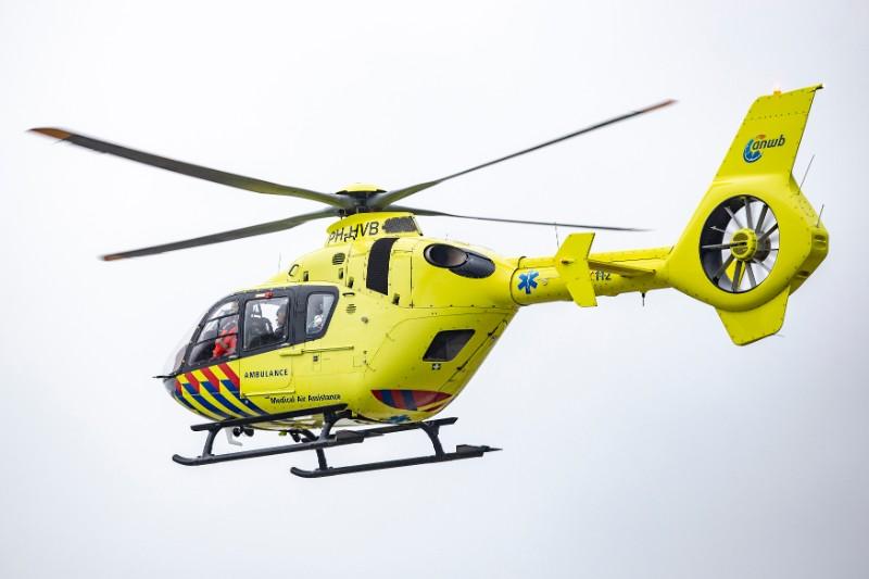 Traumahelikopter Ingezet Voor Incident Op Maartensdijkseweg In Hilversum