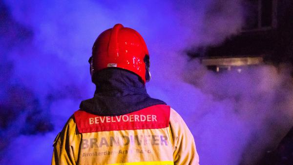 Middelbrand op Voorste Groes in Nuenen - Alarmeringen.nl